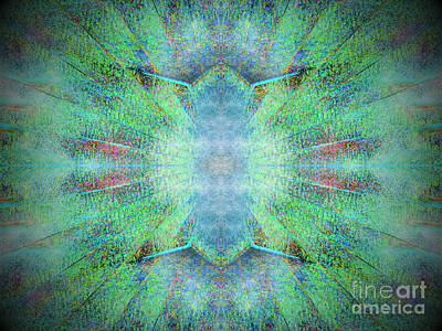 Outer Space Mixed Media - Big Bang Theory by J Burns