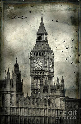 Photograph - Big Ben by Jill Battaglia