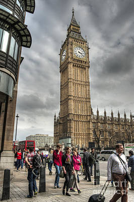 Big Ben London Art Print by Donald Davis