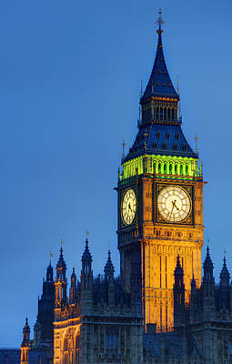 Kate Middleton Photograph - Big Ben London by Matthew Gibson