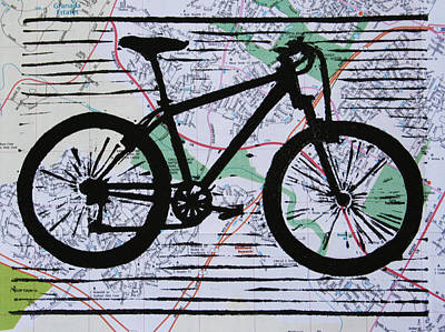 Drawing - Bike 10 by William Cauthern