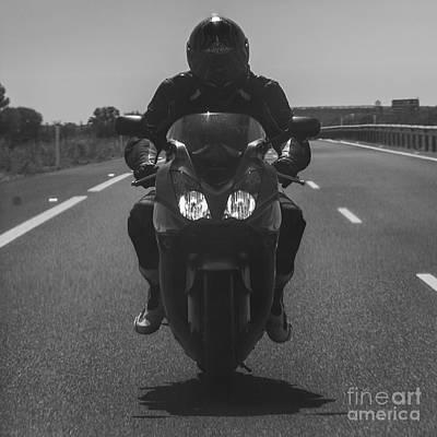 Photograph - Biker by Eugenio Moya