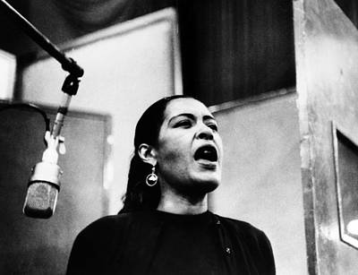 Billie Photograph - Billie Holiday (1915-1959) by Granger
