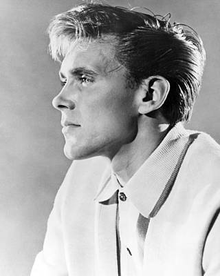 Billy Fury Art Print by Silver Screen