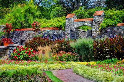 Biltmore Gardens Art Print