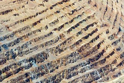 Bingham Canyon Copper Mine Art Print by Jim West