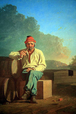 Of Augusta National Photograph - Bingham's Mississippi Boatman by Cora Wandel