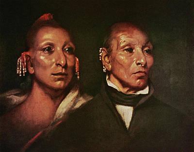 Wesley Jarvis Painting - Black Hawk (1767-1838) by Granger