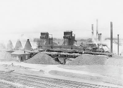 Lebanon Photograph - Blast Furnaces by Hagley Museum And Archive