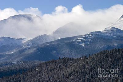 Steven Krull Royalty-Free and Rights-Managed Images - Blizzard Peak by Steven Krull