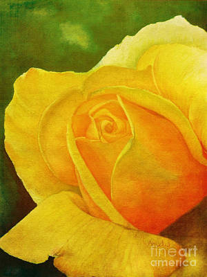 Get Well Soon Painting - Blooming Beauty by Anjali Vaidya
