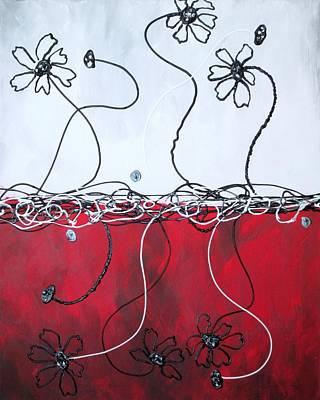 Painting - Blossom by Kathy Sheeran