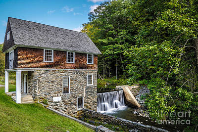 Parcs Photograph - Blow Me Down Mill Cornish New Hampshire by Edward Fielding