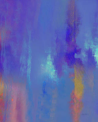 Painting - Blue Again - Abstract - Art by Ann Powell