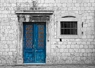 Photograph - Blue Door by Alexey Stiop