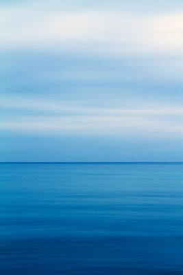 Blue Mediterranean Art Print by Stelios Kleanthous