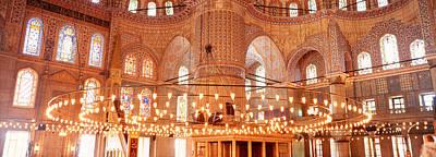 Blue Mosque, Istanbul, Turkey Art Print