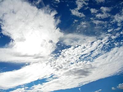Photograph - Blue Sky by Kruti Shah