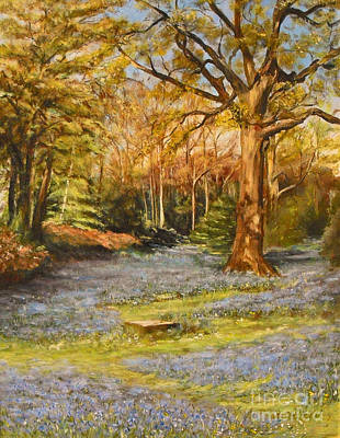 Painting - Bluebells by Beatrice Cloake