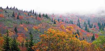 Photograph - Blueridge Parkway View At Mm 240 by Duane McCullough