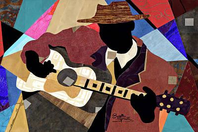 Blues Boy Art Print