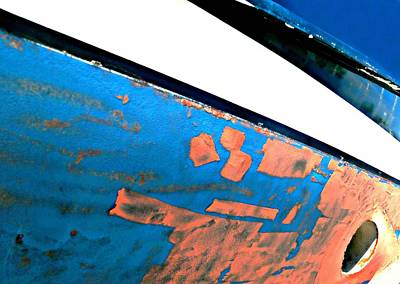 Photograph - Boat Abstract #12 by Diana Angstadt