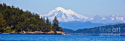 Photograph - Boating On Puget Sound by Chuck Flewelling
