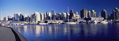 Vancouver Photograph - Boats At A Marina, Vancouver, British by Panoramic Images