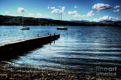 Art Print featuring the photograph Boats In Wales by Doc Braham