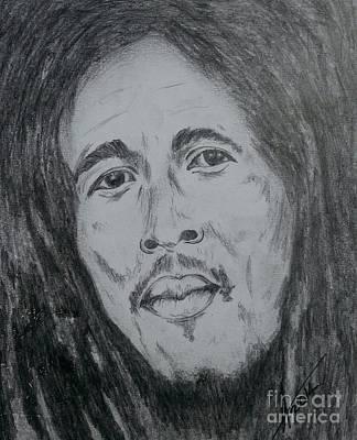 Bob Marley Art Print by Collin A Clarke