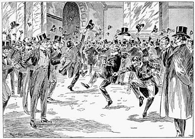 Banker Painting - Boer War, 1900 by Granger