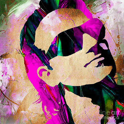 Bono Mixed Media - Bono U2 by Marvin Blaine