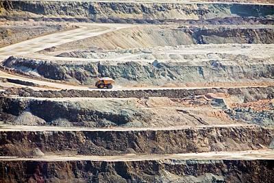 Us Open Photograph - Borax Mine by Jim West