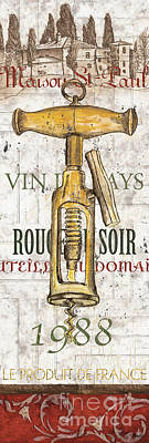 Food And Beverage Royalty-Free and Rights-Managed Images - Bordeaux Blanc 1 by Debbie DeWitt