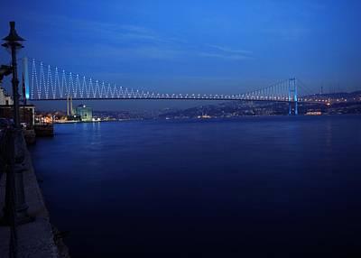Bosphorus Photograph - Bosphorus Bridge by Ugur Ugurlu