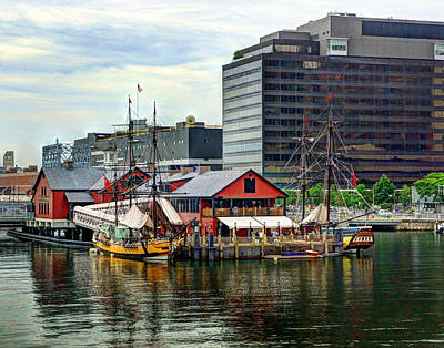 Photograph - Boston 4022 by Jeff Stallard