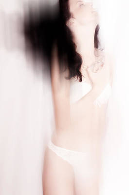 Photograph - Boudoir Photography 5. Impressionism. Exclusively For Faa by Jenny Rainbow