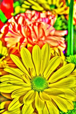 Photograph - Bouquet Of Flowers 1 by Richard Zentner