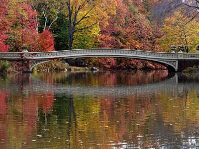 Photograph - Bow Bridge by Cornelis Verwaal