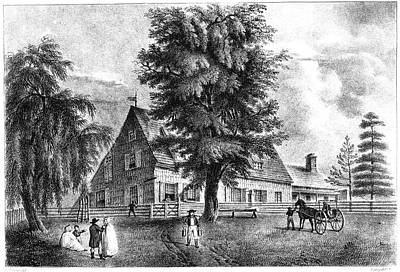 Bowne House, 1661 Art Print