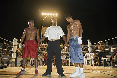 Photograph - Boxing Match by Jim West