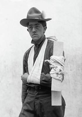 Photograph - Boy Scouts, 1912 by Granger