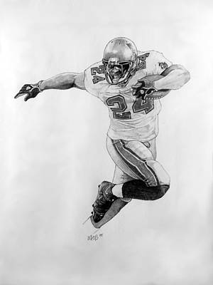 Tampa Bay Drawing - Breaking Away by William Walts