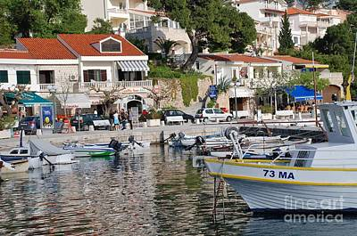 Photograph - Brela Harbour Croatia by David Fowler