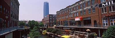 Devon Tower Photograph - Bricktown Mercantile Building by Panoramic Images