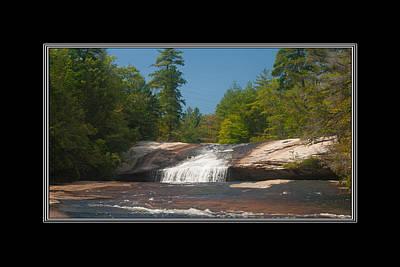 Photograph - Bridal Veil Falls North Carolina by Charles Beeler