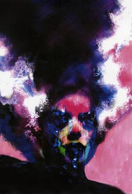 Reanimation Digital Art - Bride Of Frankenstein by Barry Sachs