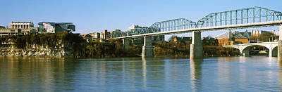 Tennessee River Photograph - Bridge Across A River, Walnut Street by Panoramic Images