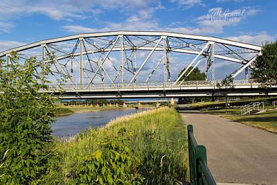 2 Bridges Art Print by Scott Grassel
