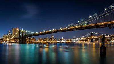 Photograph - Brooklyn Bridge by Mihai Andritoiu